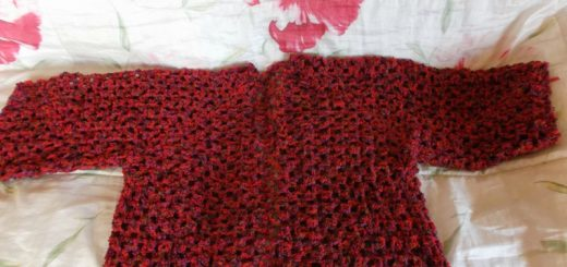 petit Shrug est devenu Grand au crochet