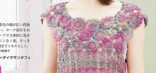 Crochet un pull au point raffiné