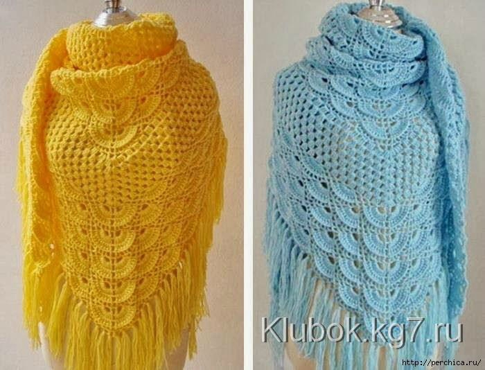 comment faire un chale au crochet