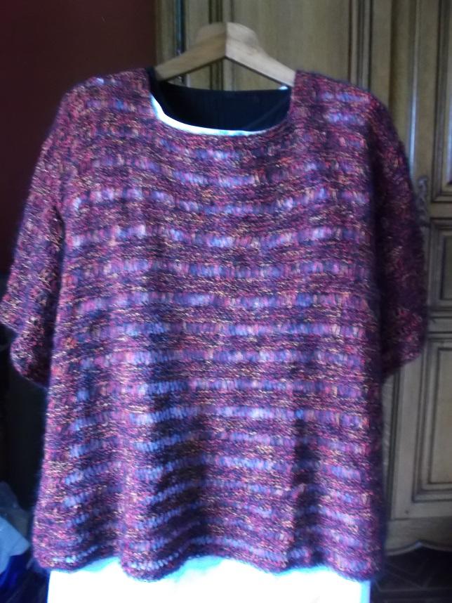 Un pull pour moi fini au tricot !