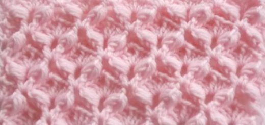Le point meringue au crochet