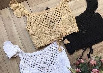 un top d'été au crochet