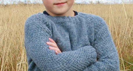 Pour nos Kids le pull Blue August